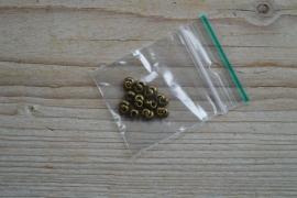 Bronsfarbige Kashierperlen ca. 4 mm 20 stück