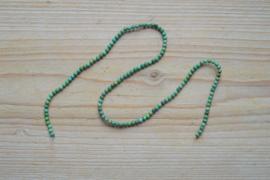 Turkoois ronde kralen ca. 3 mm (seedbeads)