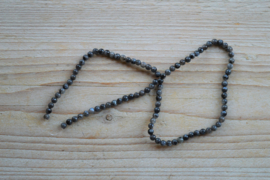 Larvikit runde Perlen 4 mm