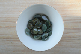 Mosagaat ovale cabochon ca. 15 x 20 mm
