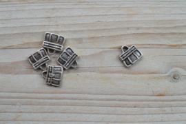 Metalen hanger handtas ca. 17 x 17 mm per stuk