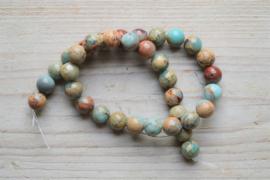 Impression Jaspis runde Perlen 12 mm