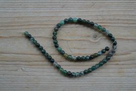 Mos Achat runde Perlen 6 mm