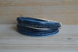DIY Pakket Armband XL J Blauw