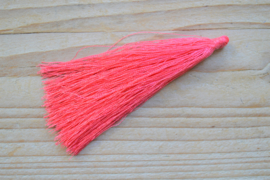 Kwastje nylon fuchsia ca. 85 mm