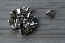 Metalen eindkap ca. 6 x 11 mm per stuk