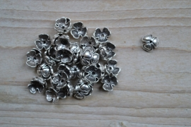 Metalen kraalkap ca. 9 mm per 10 stuks