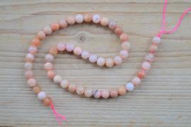 Peruanisch Pinkopal runde Perlen 8 mm