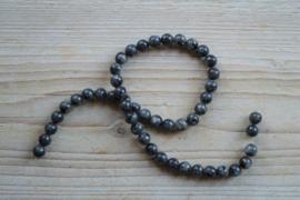 Larvikit runde Perlen 8 mm