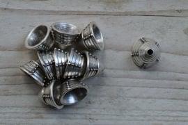 Metalen perlenkap ca. 13 x 18 mm pro stück