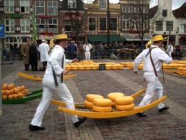 Kaasmarkt Alkmaar 25-3-2020