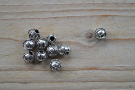 Kraal sterling zilver ca. 8 x 8,5 x 8,5 mm