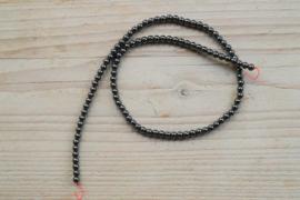 Hämatit runde Perlen 4 mm