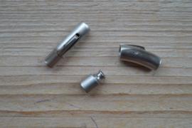 RVS Klemsluiting MAT 5 mm ca. 7 x 28 mm per stuk