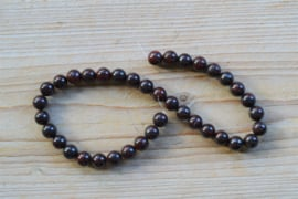 Rote Jaspis runde Perlen ca. 10 mm