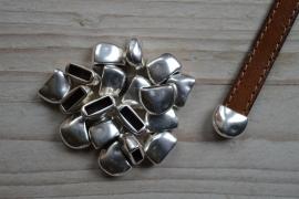 Metalen eindkap 10 mm ca. 9 x 13 mm per stuk