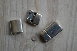 Metalen Magnetverschluss 10 mm ca. 13 x 20 mm pro stück