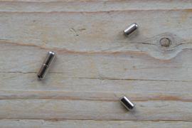RVS Staafmagneet 2 mm ca. 4 x 13 mm per stuk