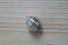 Sterling zilver magneetsluiting A ca. 16 mm