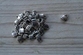 Metalen eindkap 5 mm ca. 8 x 10 mm per stuk
