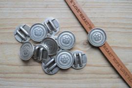 Metalen leerschuiver 10 mm ca. 20 mm per stuk