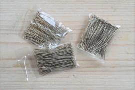 Metalen nietstiften 45 mm ca. 100 stuks