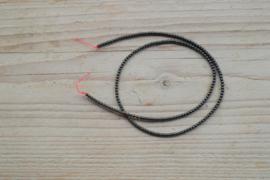 Hämatit runde Perlen 2 mm