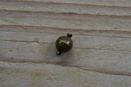 Bronskleurige Bolmagneet diameter 10 mm