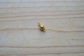Goudkleurige bolmagneet diameter 6 mm