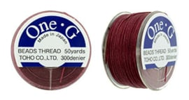 TOHO One G Cord Burgundy