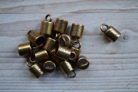 Bronskleurige Eindkappen
