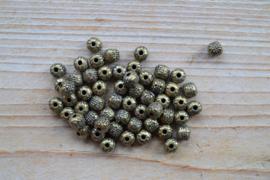 Bronskleurige tussenkraal ca. 7 mm per 10 stuks