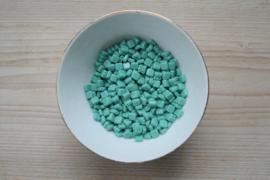 CM-10 Tiles 6 mm Opaque Turquoise per 25 stuks