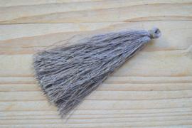 Kwastje nylon grijs ca. 85 mm
