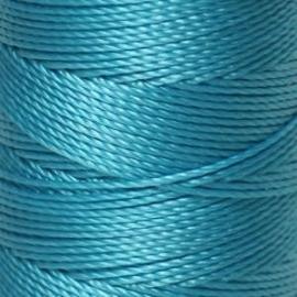 C-Lon Bead Cord Aqua