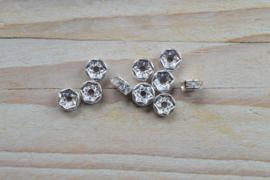 Rhinestone Perlen ca. 7 mm pro 10 stück