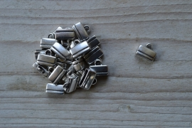 Metalen eindkap 10 mm ca. 11 x 13 mm per stuk