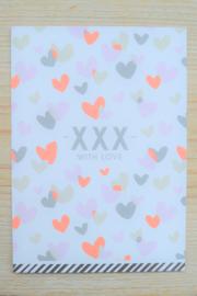 Kaart 'XXX with love'