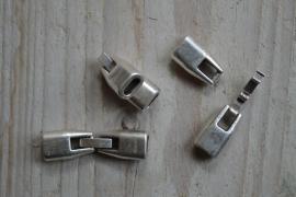 Metalen Clipverschluss ca. 8 x 32 mm pro stück