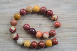 Mookait runde Perlen 18 mm