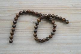 Bronzit runde Perlen 10 mm