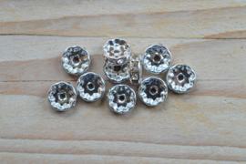Rhinestone Perlen ca. 10 mm pro 10 stück