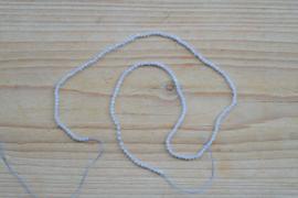 Chalcedoon gefacetteerde ronde kralen ca. 2 mm A klasse (seedbeads)