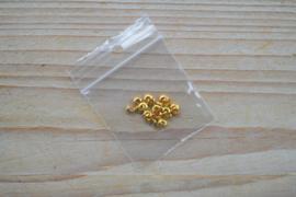 Goudkleurige knijpkraalverbergers ca. 3 mm 20 stuks