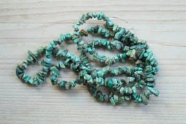 Streng Edelsteen Splitkralen Afrikaans turquoise