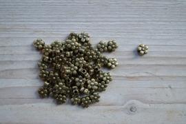 Bronskleurige tussenkraal ca. 8 mm per 5 stuks