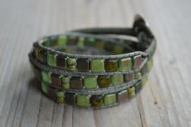 3-Wraparmband Groen