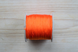 Nylonkoord dikte ca. 0,8 mm Oranje per 2 meter
