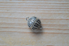 Sterling zilver magneetsluiting B ca. 14 mm
