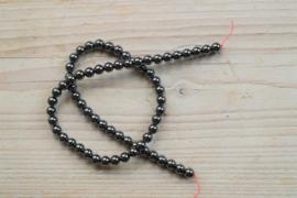 Hämatit runde Perlen 6 mm